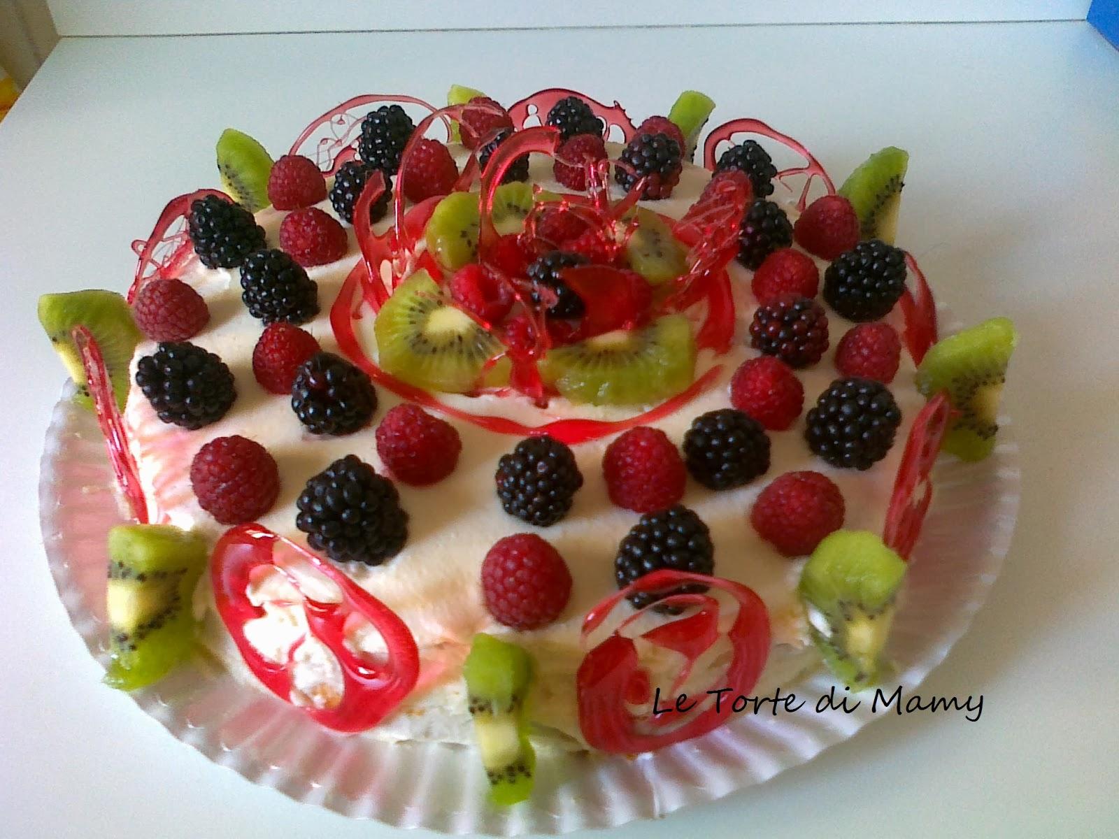Le Torte DI MAMY: PAN DI SPAGNA - bagna al limone, farcito con crema ...
