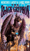 book cover of The Black Gryphon by Mercedes Lackey and Larry Dixon