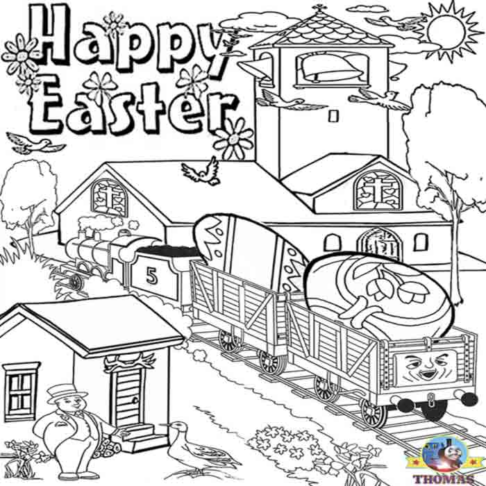 happy easter coloring pages. happy Easter egg coloring