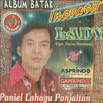 CD Musik Album Batak Inovatif (Lady)