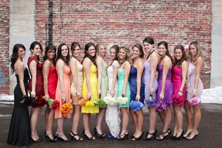 choosing the perfect color for your bridesmaids dresses can be tricky you want to make sure you pick the right color to set the tone for your wedding