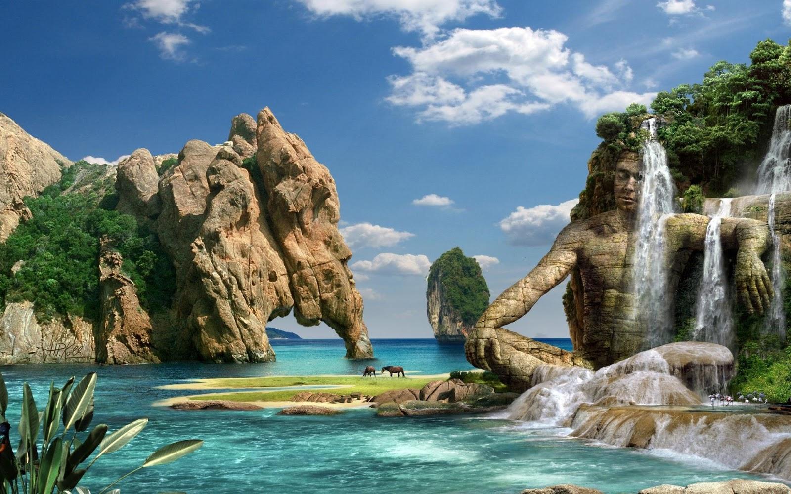 3D Fantasy Sculptures