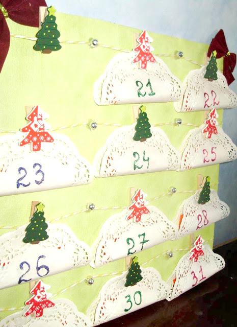 Календарь для отчета дней