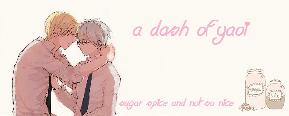 A Dash of Yaoi
