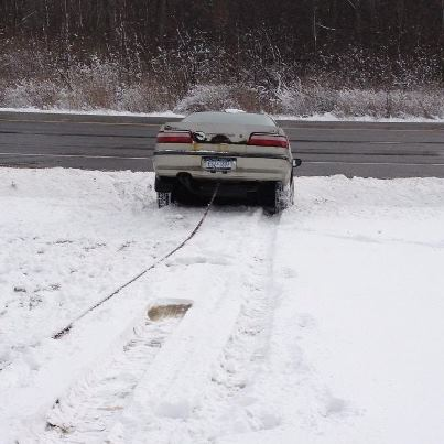 how to get out of ditch