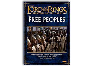 Podręcznik Władca Pierścieni LotR: SBG, Wolne Ludy Śródziemia; Krasnoludy, Elfy, Hobbici, Enty