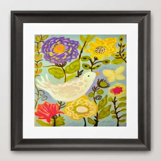 http://society6.com/product/bird-and-butterfly-flowers-by-karen-fields_framed-print#12=60&13=55