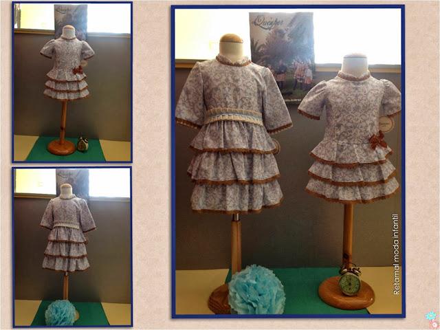 Vestidos flores Quinper en Blog Retamal moda infantil y bebé. Ropa y Tienda de niños y adolescentes
