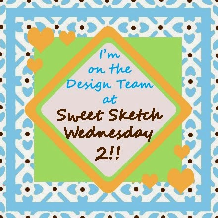Joined Sweet Sketch Wednesday 2 design team April 2017