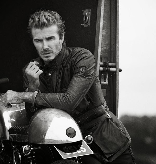 David Beckham é o novo rosto da Belstaff – Superpride