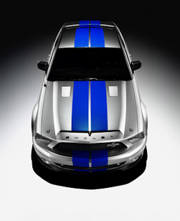 ford shelby mustang gt500 profile