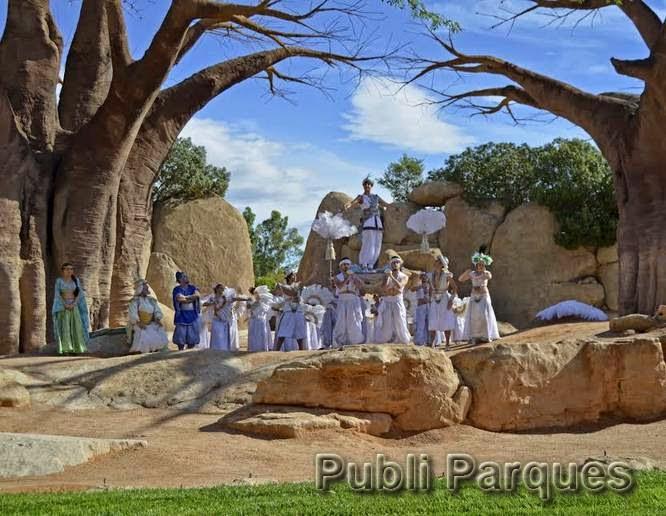 Aladdin en Bioparc Valencia
