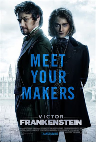 Novo vídeo de Victor Frankenstein com James McAvoy e Daniel Radcliffe
