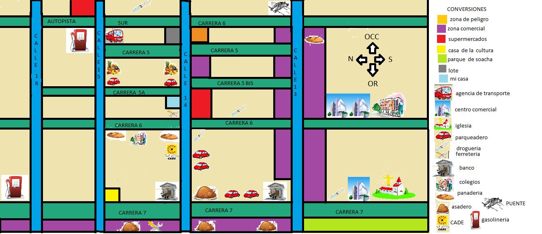Primeros auxilios y prevenci n de desastres mapa de - Plano de mi casa ...