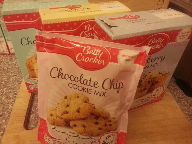 Betty Crocker Mixes