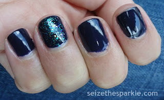 OPI Road House Blues Layering