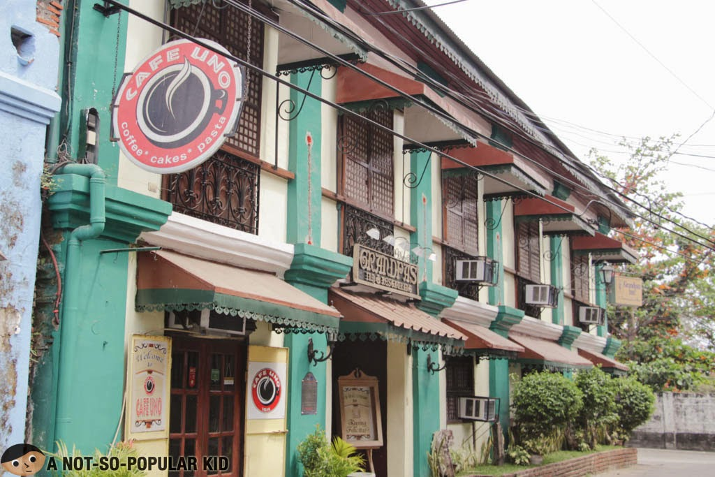 Cafe Uno - Coffee, Cakes and Pasta, Vigan City