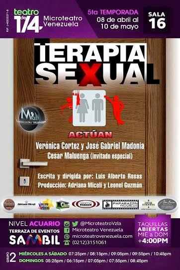 terapia sexual caracas obra teatro