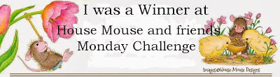 l am a winner with Housemouse Challenge