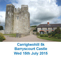 Popular 5k in East Cork...Wed 15th July