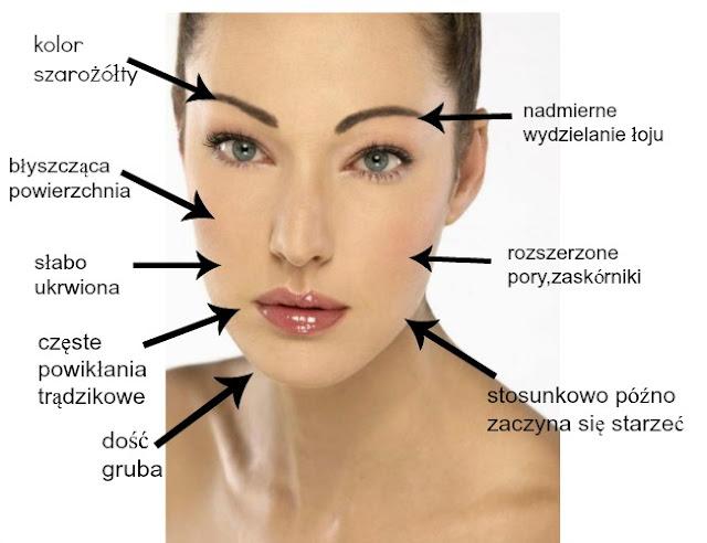 Pielegnacja skóry twarzy-cera tłusta.
