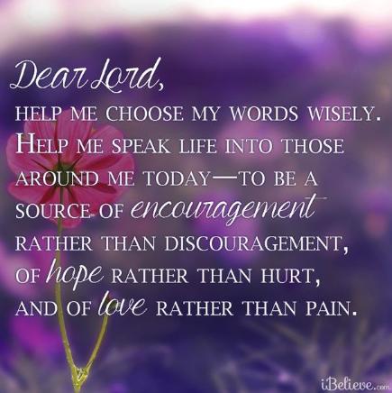 Dear Lord.....