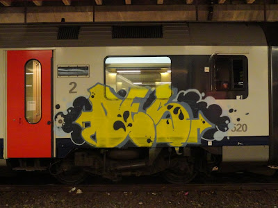 Des graffiti