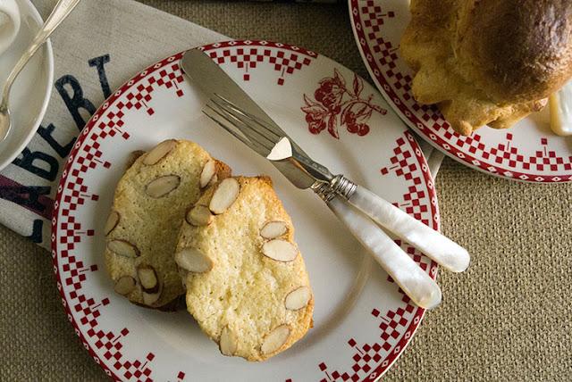 Triple Treat-Golden Brioche Loaves, Individual Brioches and Bostock