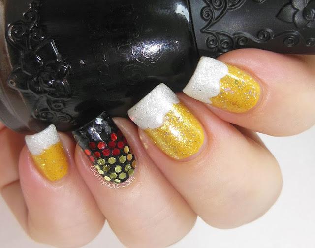 Oktoberfest nails
