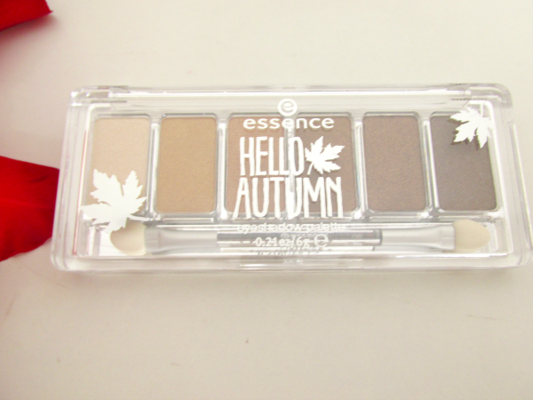 essence Hello Autumn Eyeshadow Palette 01 Walk in the Park  review