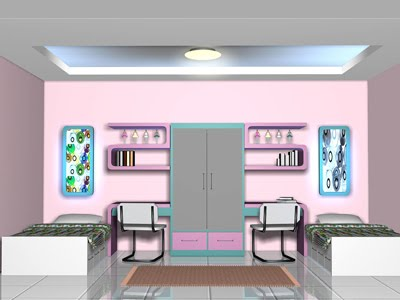 INTERIOR DESIGN: Interior Design of The Twins Bedroom