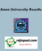 Anna University Results Nov Dec 2014 Jan 2015