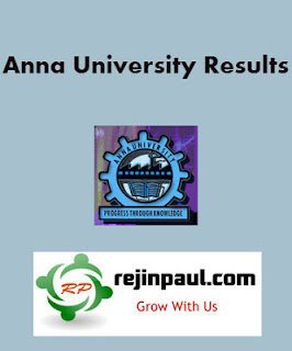 Anna University Results 2013 2014 Nov Dec Jan Exam Result Date UG PG results Rejinpaul