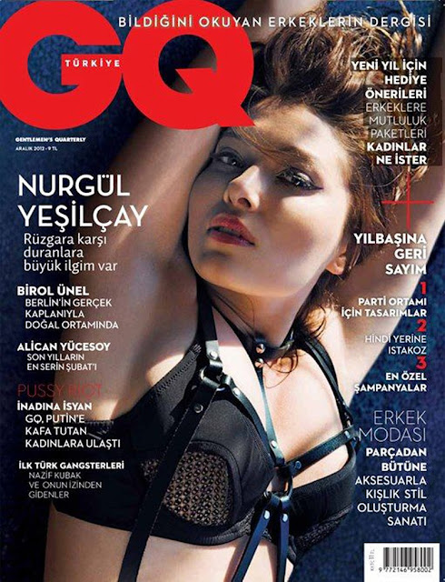 Nurgul Yesilcay by Gianluca Fontana for GQ Turkey, December 2012