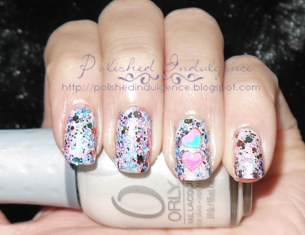 Polished indulgence nail art wednesday girly graffiti nails nail art wednesday girly graffiti nails prinsesfo Gallery
