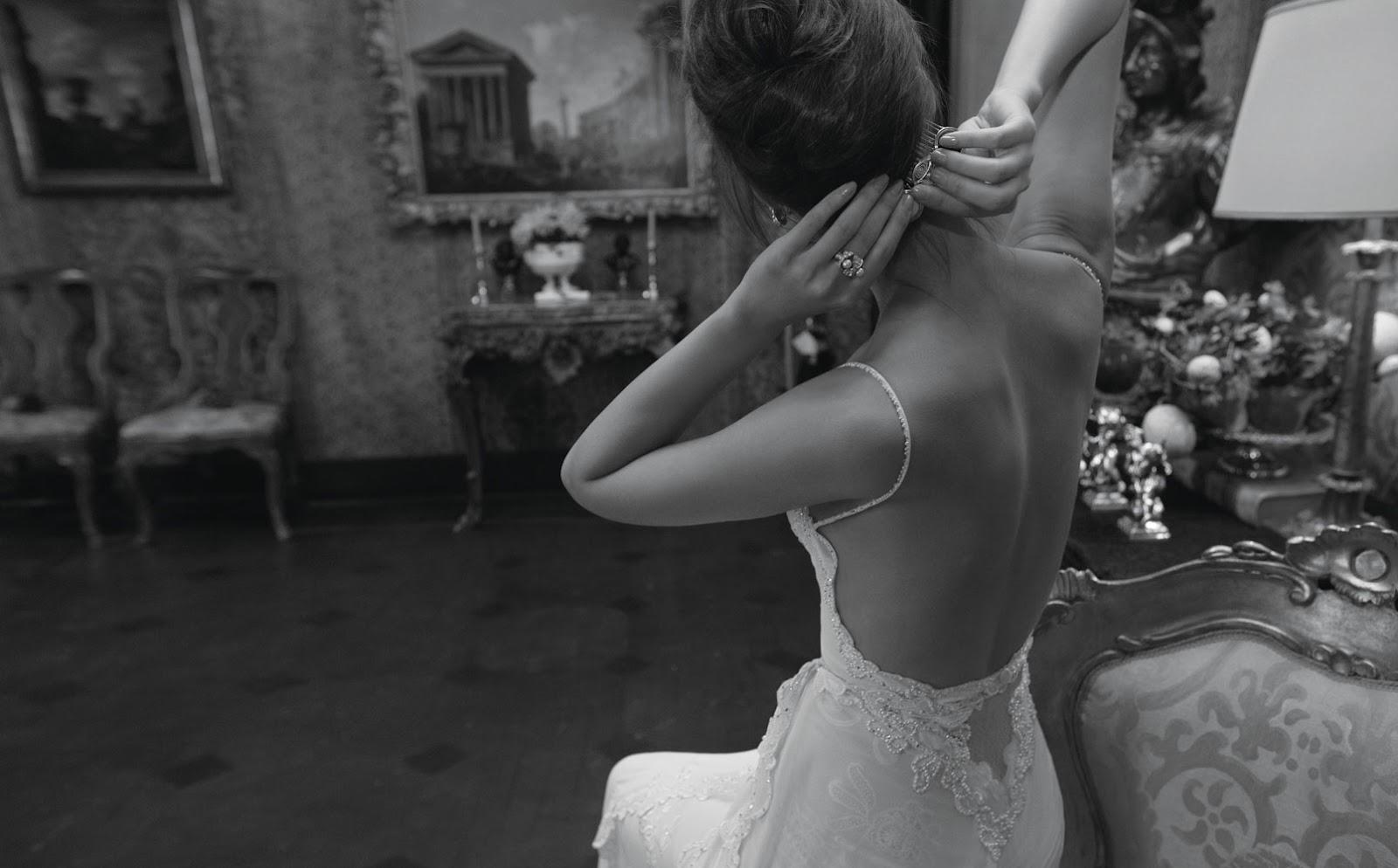 Фото со спины рыжих невест 6 фотография