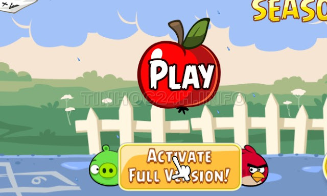 Angry Birds Seasons 2.5.0 Activate