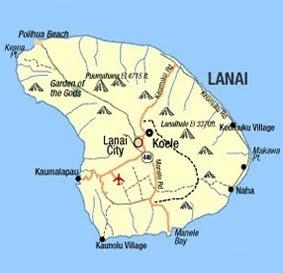 Population Of The Island Of Lanai Hawaii