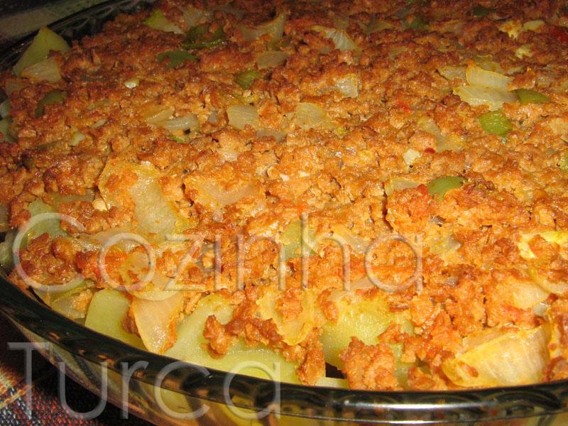 Moussaka de Beringela (Patlıcan Musakka)