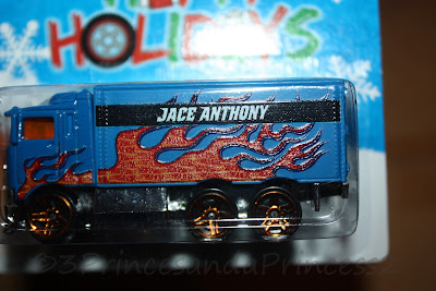 Customized Hot Wheels with name