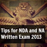 Tips for NDA and NA Written Exam 2013
