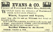 1854-London Porter & Scotch Ales in Oshkosh