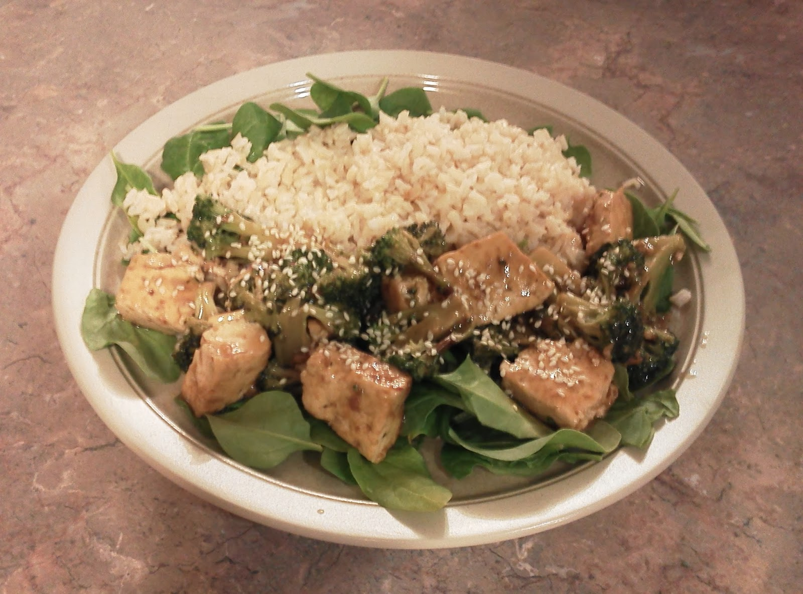 Pocono Pabulum for Mind & Body: Broccoli and Tofu Stir Fry