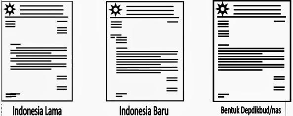 Image Result For Bentuk Surat Depdikbud