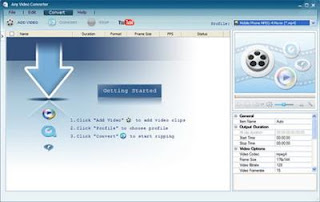 Any Video Converter Professional is an All-in-One video converting tool with easy-to-use graphical interface, fast converting speed and excellent video quality