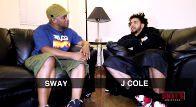Sway Interviews J. Cole Behind The Scenes: Forest Hills Drive Tour