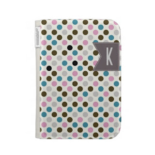 polka dot kindle case