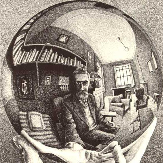 essay on m.c. escher Mc escher essay 1118 words | 5 pages recording the same image that it's sending to the screen the game portal is a great example of recursion, when two portals.