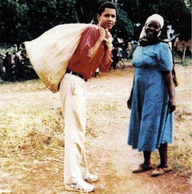 LATEST KENYAN NEWS: Rare PHOTO: Barack Obama in Kenya many YEARS AGO