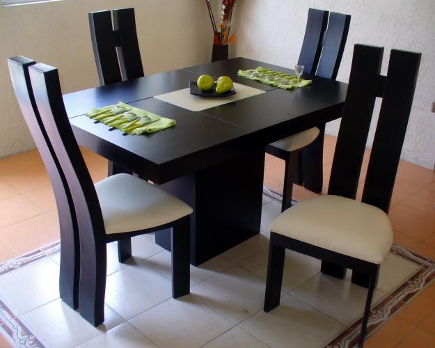 La feria de muebles for Fotos de comedores de madera